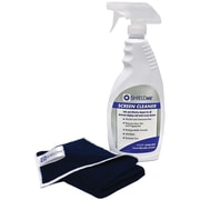 Shieldme® Screen Cleaner With Microfiber Cleaning Cloth, 22 oz.