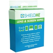 Shieldme® Lens and Screen Cleaning Wipes, 40/Pack