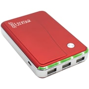 Lenmar® Lithium-Ion Portable Power Bank For Mobile Phones/Tablets, Red