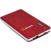 Lenmar® Lithium Polymer Portable Power Bank For Mobile Phones, Red