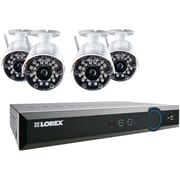 Lorex® ECO Blackbox 3 8 Channel DVR Security System With 4-Wireless Cameras, White