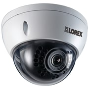 Lorex® Full HD Weatherproof IP Dome Security Camera With Night-Vision, White