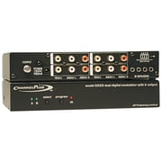 Channel Plus® Deluxe Series Modulator with IR Emitter Ports, Dual Source