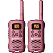 Motorola Talkabout® MG167A Alkaline 2-Way Radio, 16 mile, Pink