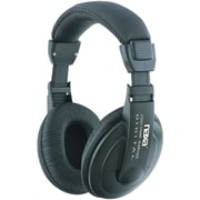Naxa® Super Bass Professional Digital Over-Ear Headphone With Volume Control, Black