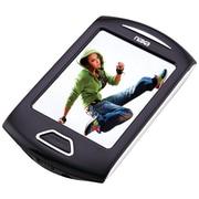 "Naxa® 4GB 2.8"" Touch-Screen Portable Media Player, Silver"