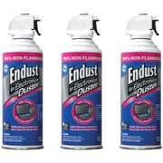 Endust® Non-Flammable Air Duster Kit With Bitterant, 10 oz.