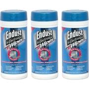 Endust® Multi-Surface Pre-Moistened Anti-Static Pop-Up Wipes Kit, 70/Carton