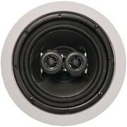 """ArchiTech AP-611 Pro Single-Point In-Ceiling Stereo Loudspeaker, 6.5"""", 2-Way, 100W"""