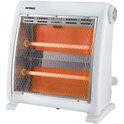 Optimus 400/800 W Infrared Quartz Radiant Heater, White