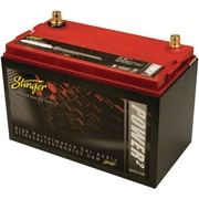 Stinger Power2 2150 A/12 VDC Dry-Cell Lead-Acid Vehicle Battery With Metal Case, Red