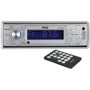 Pyle® PLMR17BT Single-DIN In-Dash Bluetooth Mechless Receiver, 240 W, Silver