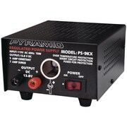 Pyramid 13.8 VDC 5 A Power Supply With Cigarette-Lighter Plug, 70 W