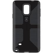 Speck® CandyShell® Rubber Grip Slim Case For Samsung Galaxy Note 4, Black/Slate Gray