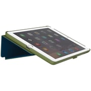 Speck® StyleFolio™ Leather Folio Case For iPad Air 2, Moss Green/DeepSea Blue