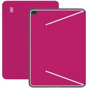 Speck® DuraFolio Polycarbonate/TPE Folio Case For iPad Air 2, Fuchsia Pink/White/Slate Gray