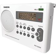 Sangean® PR-D9W AM/FM/Weather Alert Rechargeable Portable Radio