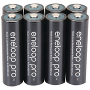 Panasonic Eneloop pro™ Ni-MH AA Rechargeable Batteries, 8/Pack