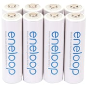 Panasonic Eneloop™ Ni-MH AA Rechargeable Batteries, 8/Pack