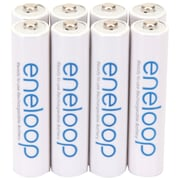 Panasonic Eneloop™ Ni-MH AAA Rechargeable Batteries, 8/Pack
