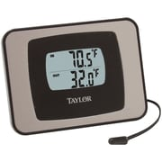 "Taylor® Digital Indoor/Outdoor Thermometer, 4"" x 3"" x 1"""