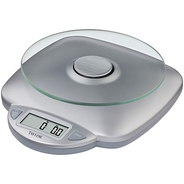 Taylor 11 Lbs Glass Digital Kitchen Scale Staples