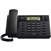 RCA® 25201RE1 2-Line Corded Speakerphone, Black