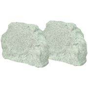 "TIC TFS5 6 1/2"" Outdoor Rock Speaker, 150 W, White Granite"