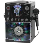 "Singing Machine® Sound And Light Show Karaoke System, Black,13.1"" x 8.7"" x 8.5"""