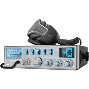Uniden® 40-Channel CB Radio PC787 with Big SWR Meter, Silver
