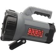 "Wagan® Brite-Nite™ 10 W LED Spotlight Lantern, Black/Silver, 10"" x 7"" x 6.1"""
