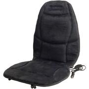 Wagan® Velour Heated Seat Cushion, Black