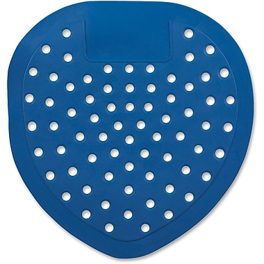 Continental Deod-O-Screen Urinal Screen, Blue, 12/Pack