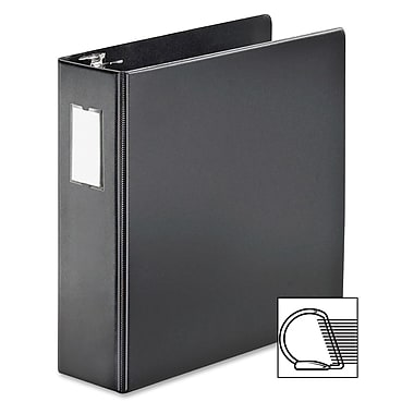 Cardinal® SuperStrength Slant-D Ring Binder, Black