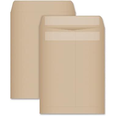 Quality Park – Enveloppes kraft recyclées pour catalogues, 9 x 12 po, 100/boîte, – Redi-Seal