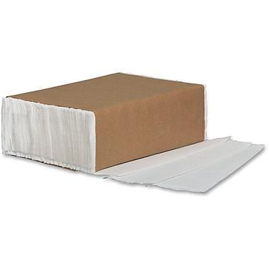 Metro Paper – Essuie-tout à plis multiples réguliers, blanc, 12/boîte