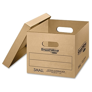 Bankers Box® Lift-Off Lid Classic Moving Box, Small, 10/Pack (FEL7714203)