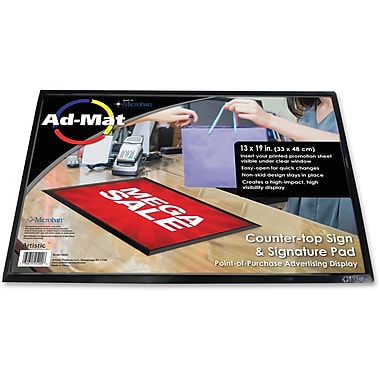Artistic Ad-Mat Sign/Signature Pad, 13