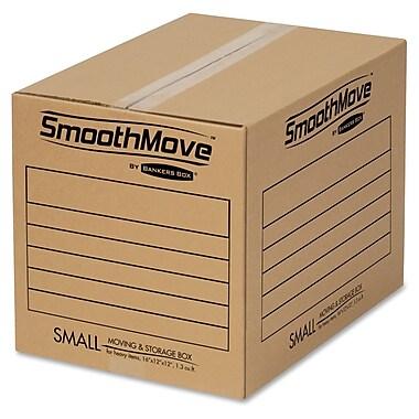 Fellowes SmooveMove – Petites boîtes pour déménagement standard, 25/paq.