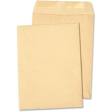 Quality Park Catalogue Envelope Natural Kraft, 6-1/2