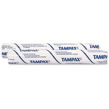 Procter & Gamble Tampax Single-Size Tube Vending Tampons, 500/Carton