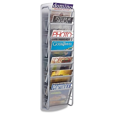 Safco® 7-Pocket Impromptu Magazine Racks