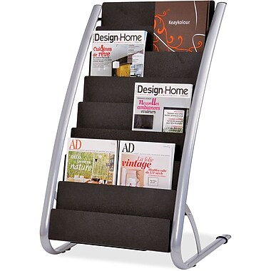 Alba 16-Pocket Vertical Literature Display Stand