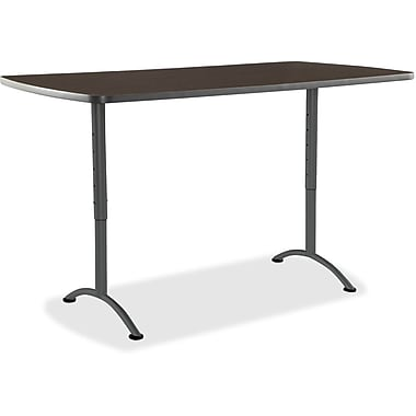 Iceberg Walnut ARC Sit-to-Stand Adj. Height Table, 36