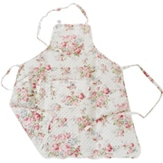 Textiles Plus Inc. Quilted Apron; Pink Rose