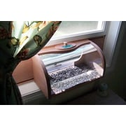 Coveside Conservation Bread Box Window Feeder with Mirror