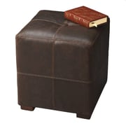 Butler Modern Expressions Leather Ottoman