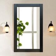 Legion Furniture Rectangular Vanity Mirror; Espresso