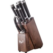 Ryuu Cutlery Damascus 8 Piece Knife Block Set