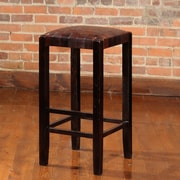 William Sheppee Studio 30'' Bar Stool with Cushion; Espresso